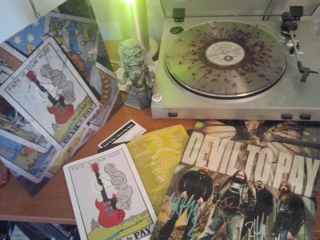 DTP exclusive colored vinyl LP package